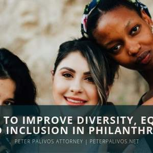 How To Improve Diversity, Equity and Inclusion In Philanthropy