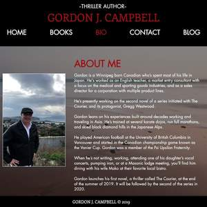 Gordon Campbell Author (www.gordonjcampbell.com)