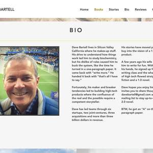 Dave Bartell Author Website (www.davebartell.com)
