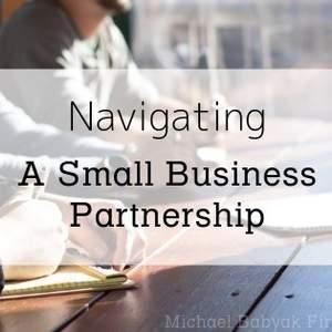 Navigating A Small Business Partnership