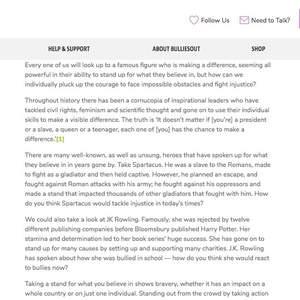 Composing blog posts