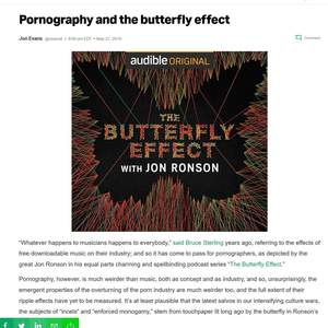 The Butterfly Effect by Jon Ronson