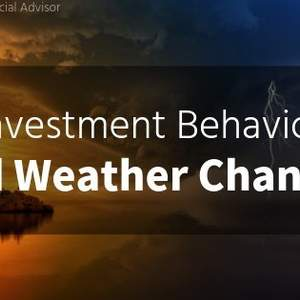 Investment Behavior and Weather Changes