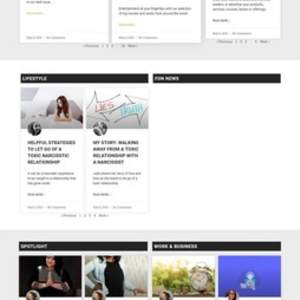 Premium WordPress Website Design  - Magazine + Full-Service Membership & Social Platform type Website
