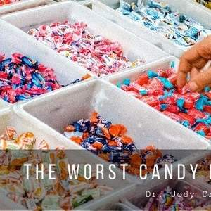 The Worst Candy For Your Teeth