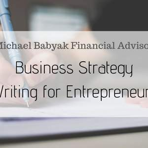 Business Strategy Writing For Entrepreneurs