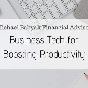 Business Tech for Boosting Productivity
