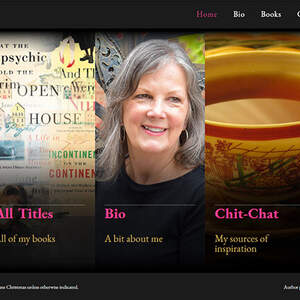 Website for travel/memoir author Jane Christmas