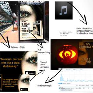 Brand Author Campaign - Tess Gerritsen