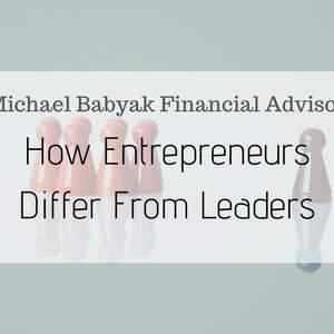 How Entrepreneurs Differ From Leaders
