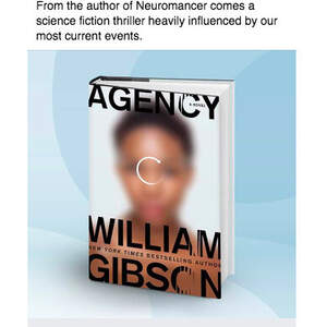 Facebook Advertising—AGENCY by William Gibson