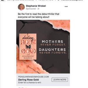 Facebook Advertising—DARLING ROSE GOLD by Stephanie Wrobel