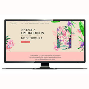 Natasha Omokhodion Author Website