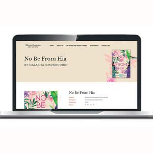 Natasha Omokhodion Author Website