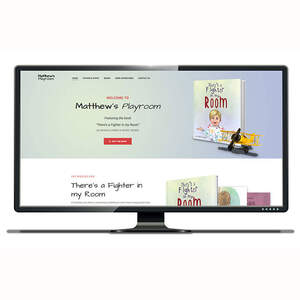 Matthew's Playroom Author Website